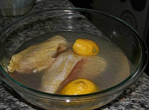 Brine the chicken breasts.