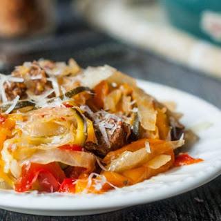 Slow Cooker Veggie Spaghetti (Gluten Free) Recipe