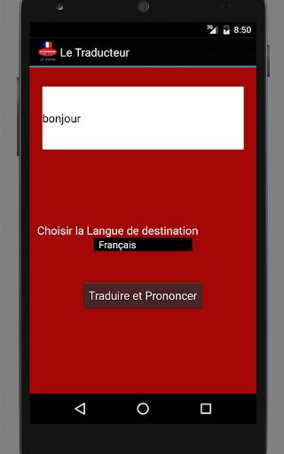 Traducteur français gratuit
