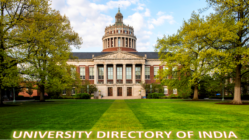 State Wise University Directory of India