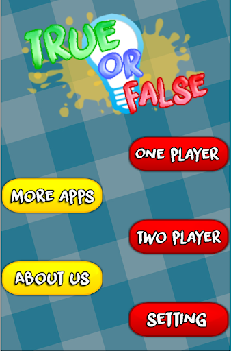 True or False to test wits