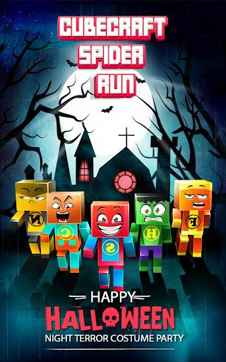 CubeCraft Spider Run