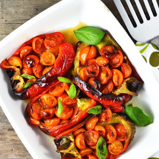 Italian Stuffed Peppers with Tomatoes and Anchovies Recipe