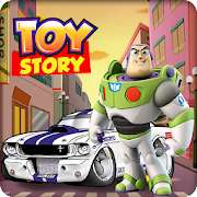 Toy Story Buzz Lightyear and The monster machines