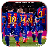 Keypad Lock Screen For Fc Barcelona