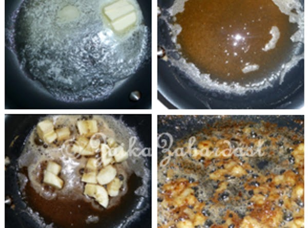 In a small skillet add the butter and cook it on medium heat for...