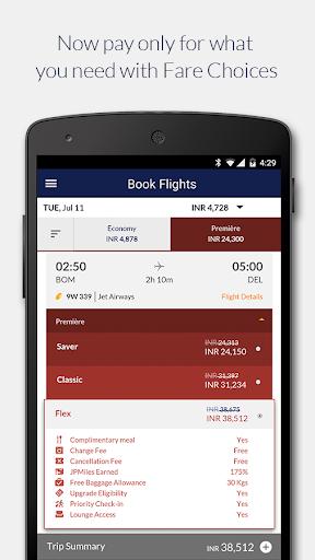 jet airways screenshot 2