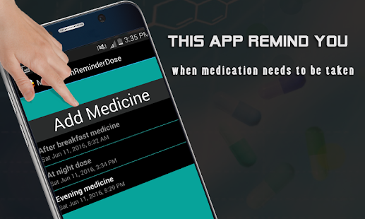 Medication reminder dose android apps on google play medication reminder dose screenshot thumbnail sciox Image collections