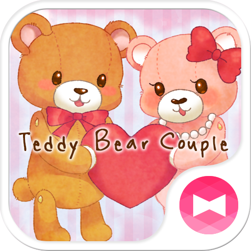 Teddy Bear Couple Love Theme Icon