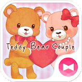 Teddy Bear Couple +HOME Theme