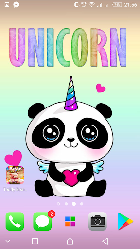 Cute backgrounds screenshot 1 Unicorn wallpapers ? Cute backgrounds screenshot 2 ...