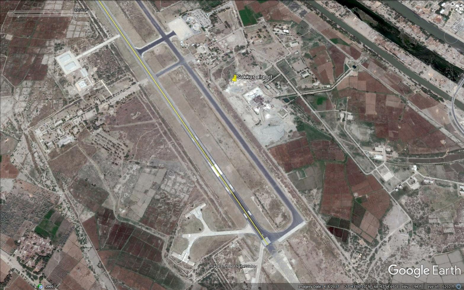 Sukkur airstrip 2.76km