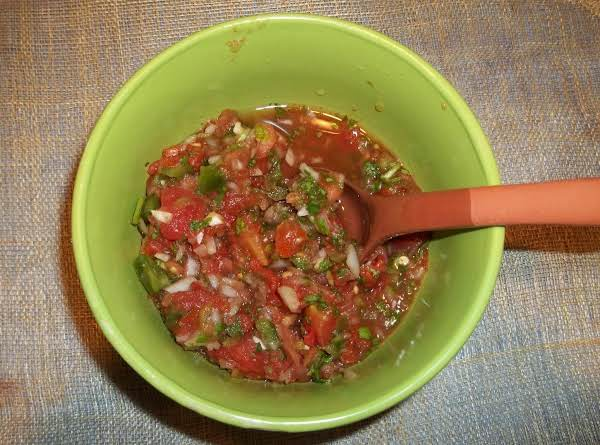 Salsa Fresca Muy Bueno (sallye)