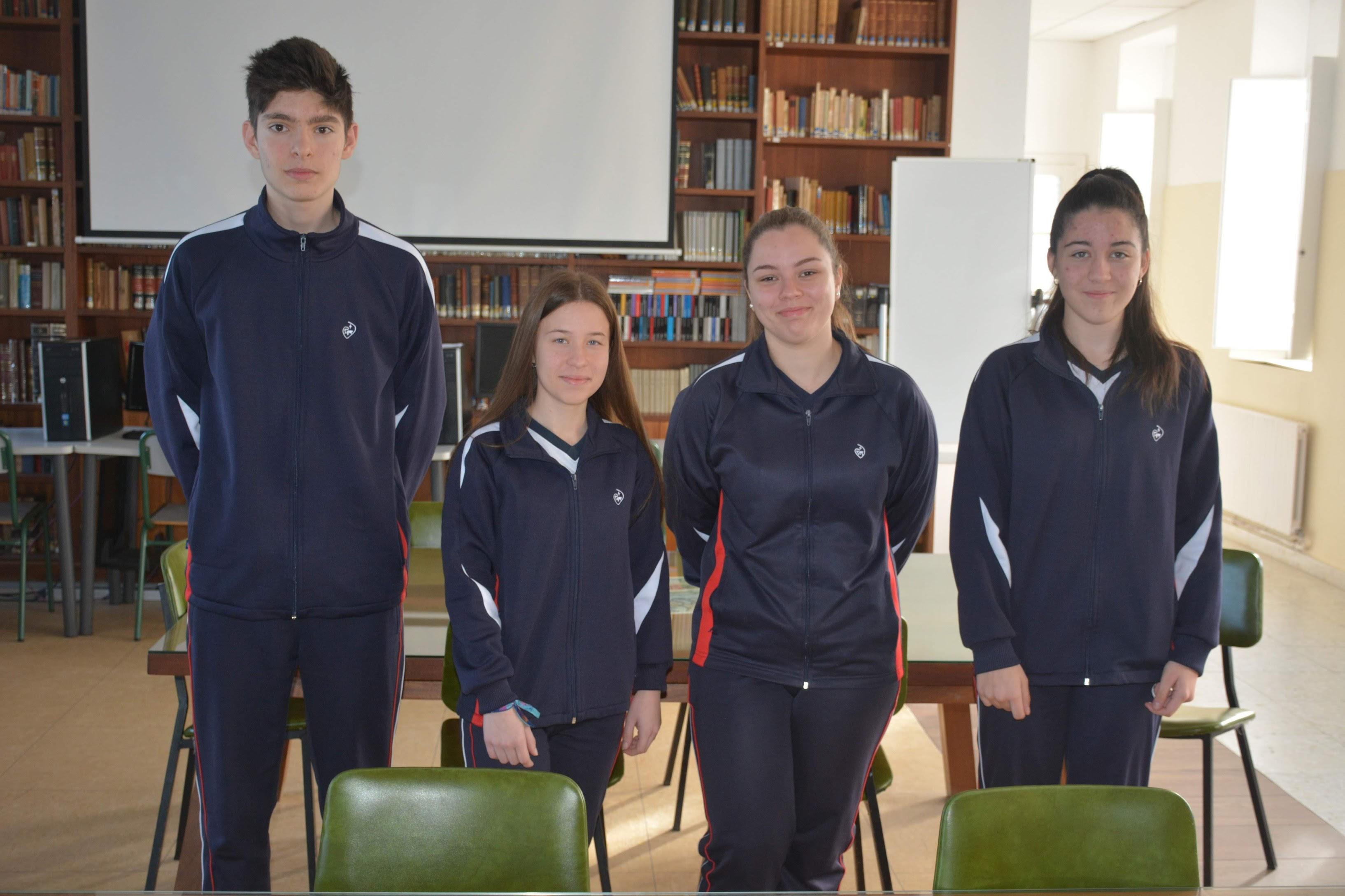 Alumnos de 4º ESO- Rally Matemático Sen Fronteras 2019