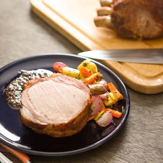 Pork Loin Roast With Winter Vegetables