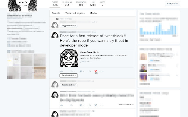 TweetBlock
