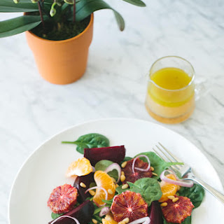 Roasted Beet, Blood Orange and Mandarin Salad Recipe
