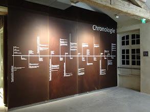 Photo: Retour vers l'entrée - La chronologie de la tapisserie