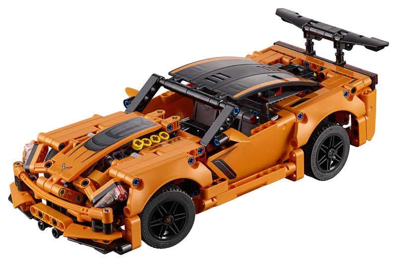 Contenido de Lego® 42093 Chevrolet Corvette ZR1