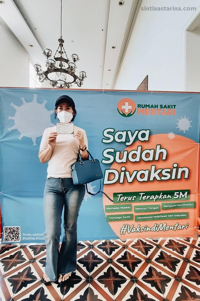 Pengalaman Suntik Vaksin COVID-19 di Tangerang