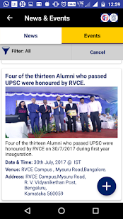 RVCE Alumni Association- screenshot thumbnail