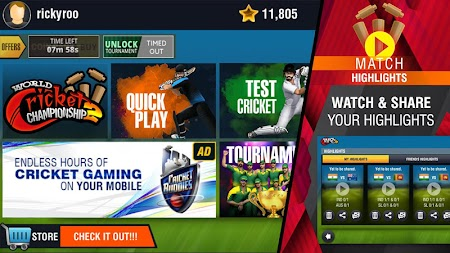 World Cricket Championship 2 APK screenshot thumbnail 6