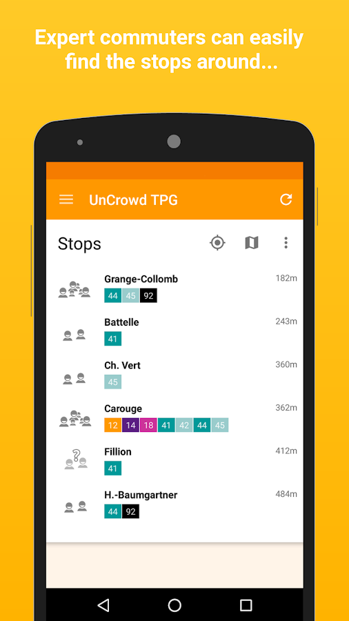 UnCrowd TPG- screenshot