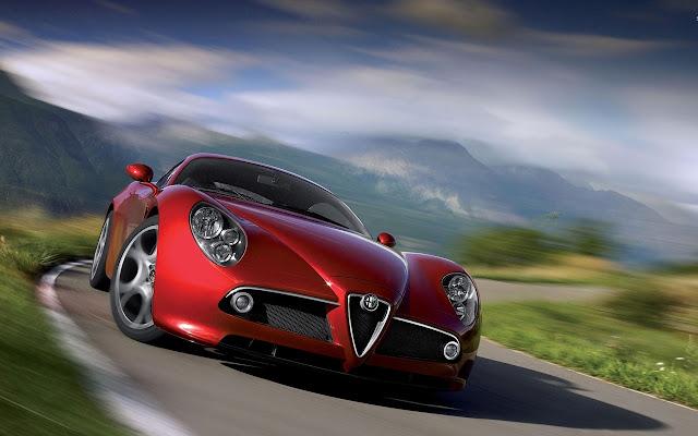 Alfa Romeo 8C Competizione Tab