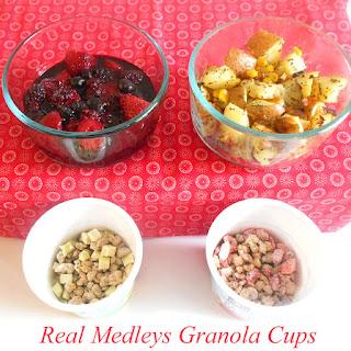 Quaker Real Medleys Yogurt Cups For Brunch