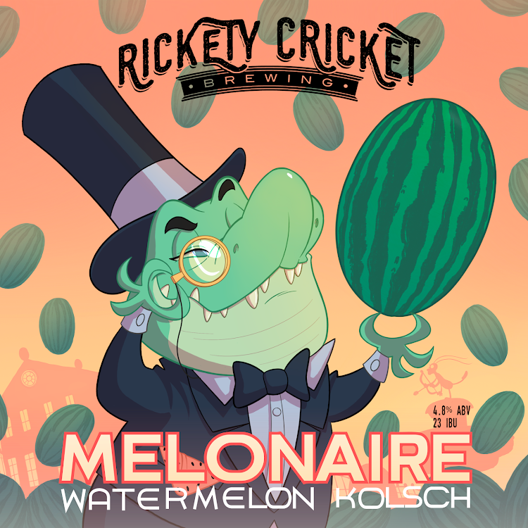 Logo of Rickety Cricket Melonaire