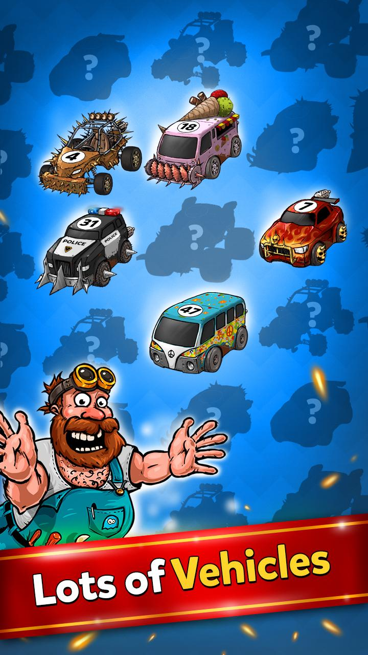 Merge Battle Car Tycoon Screenshot 1