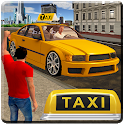 City Taxi Driver Sim 2016: Multiplayer Cab Game 3D icon