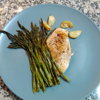 Asparagus with Chicken Breast