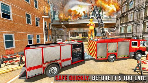 Fire Engine Truck Driving : Emergency Response 1.0.1 screenshots 7