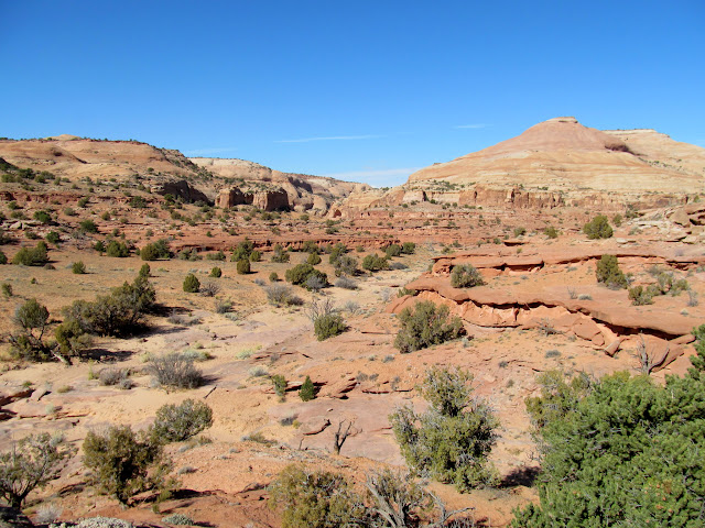 View from one side canyon to another