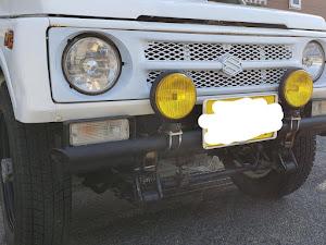 ジムニー JA11V ja11のバンパーのカスタム事例画像 KOMATSUさんの2019年01月04日14:32の投稿