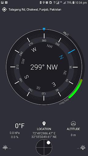 Compass Sensor with Smart Digital Compass Android screenshots 2