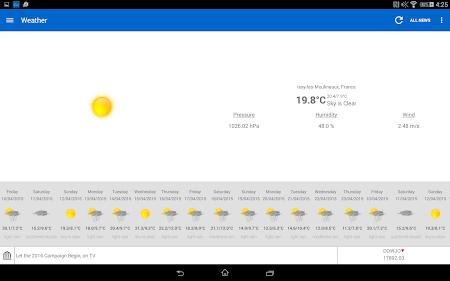 Breaking News & Weather 2.3.2 screenshot 1827627