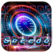 Car speedometer Keyboard Theme