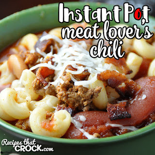 Meat Lover's Instant Pot Chili.
