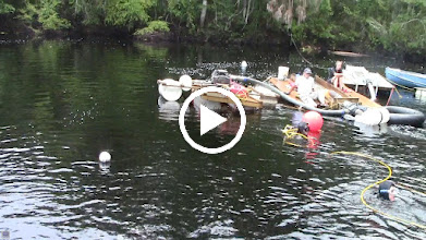 Video: Lots of equipment is involved in even these 'shallow' underwater operations.