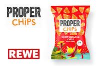 Angebot für PROPERCHIPS Sweet Sriracha Chilli bei REWE im Supermarkt - Proper