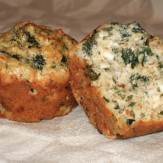 Spinach & Cheese Muffins