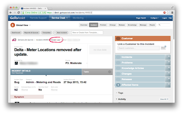 Quickly Go To A Service Desk Record By Number Or Two Word Phrase From The Omnibox