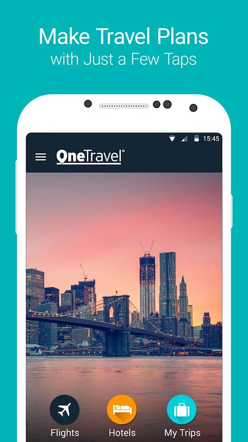 OneTravel: Cheap Flights, Cheap Hotels Booking App