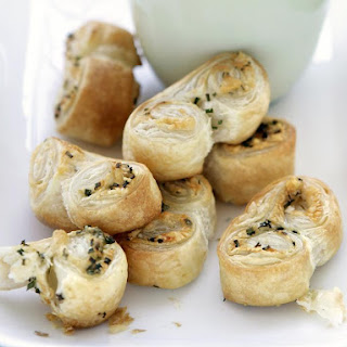 Cheese Palmiers.