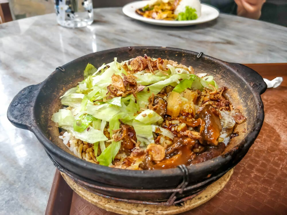 Claypot fish rice