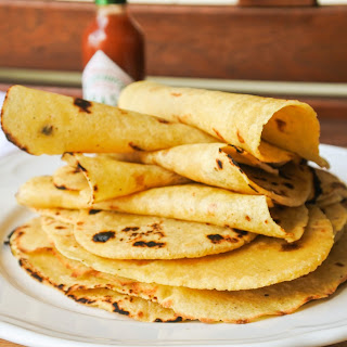 Homemade Corn Tortillas Recipe