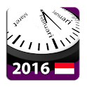 Indonesia 2016 Kalender adFree icon