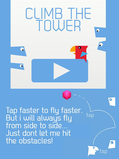 Bird Climb - screenshot